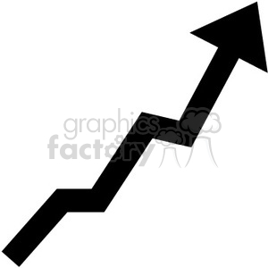 chart graph up arrow arrows lose profits statistics RG