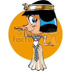 egyptian woman dancing clipart. Royalty-free image # 390673
