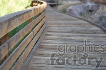 wooden walkway photo. Commercial use photo # 390978