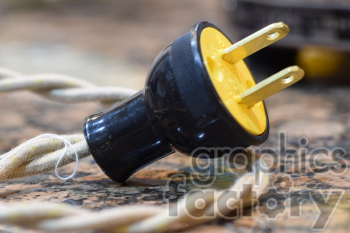electrical plug photo. Royalty-free photo # 391003