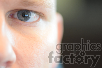 close up male eye photo. Royalty-free photo # 391153