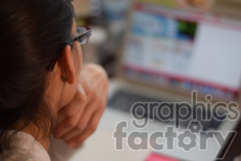 person working on a computer photo. Royalty-free photo # 391158
