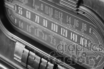 black and white juke box clipart. Royalty-free image # 391173