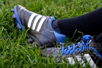 soccer shoes photo. Royalty-free photo # 391188