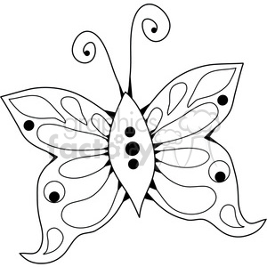 Butterfly 04 clipart. Commercial use image # 391537