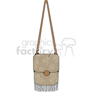 Womens Purse 03 clipart. Royalty-free image # 391565