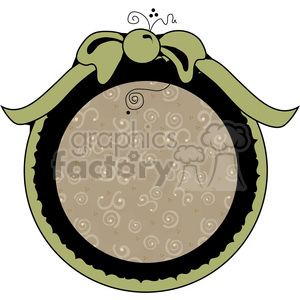 cartoon frame round