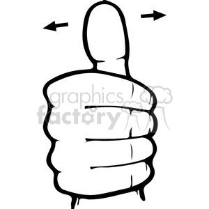 ASL sign language 10 clipart illustration clipart. Royalty-free image # 391659