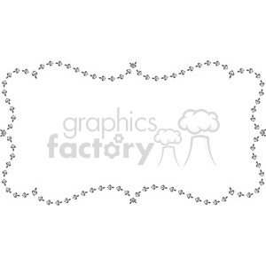 heart frame swirls boutique design border 9 clipart. Royalty-free image # 392471