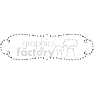 heart frame swirls boutique design border 5 clipart. Royalty-free image # 392476