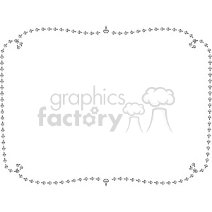 heart frame swirls boutique design border 11 clipart. Royalty-free image # 392500