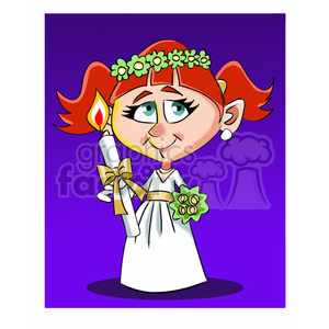 primera comunion cartoon character clipart. Royalty-free image # 393261