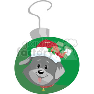 christmas cartoon characters holidays dog ornament