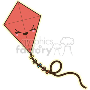 Kite vector clip art image clipart. Commercial use image # 393800