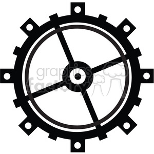 Gear 08 clipart. Commercial use image # 394106