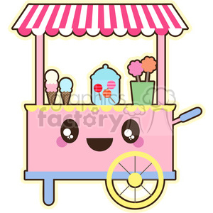 Sweet Cart clipart. Commercial use image # 394647
