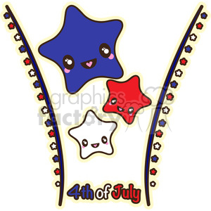 Fourth Of July clipart. Commercial use image # 394667