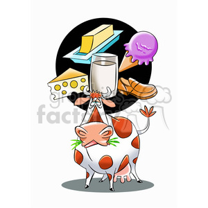 cattle thinking about the meaning of life clipart. Royalty-free image # 394767