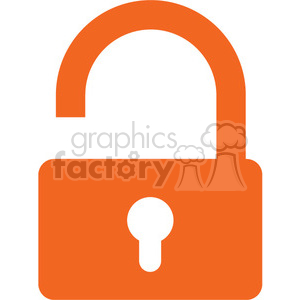 open security lock clipart. Commercial use image # 394843