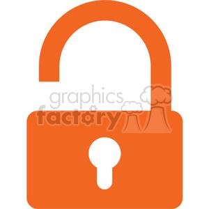 open lock padlock padlocks security safe secure rg