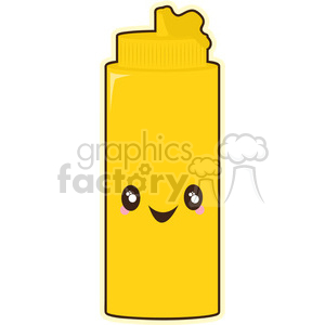 Mustard cartoon character vector image
