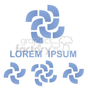 logo template geom 003 clipart. Commercial use image # 397240