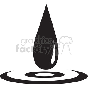 drop of water image clipart. Royalty-free image # 397922