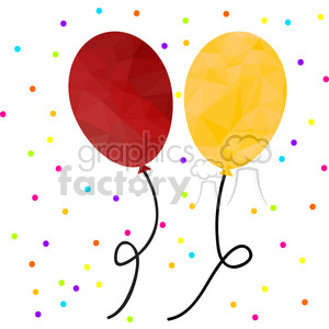 Balloons clipart. Commercial use image # 397972