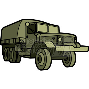 military armored transport vehicle clipart. Royalty-free image # 397992