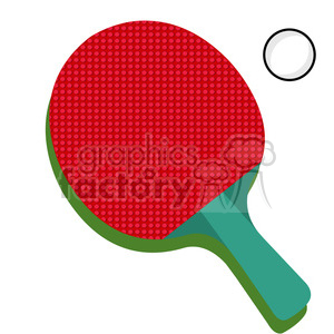 table tennis ping pong paddle clipart. Royalty-free icon # 398132