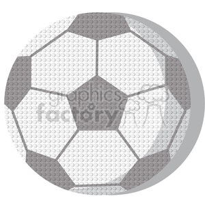 sports equipment soccer ball clipart. Commercial use image # 398152