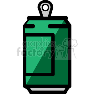 green soda can icon clipart. Royalty-free image # 398202