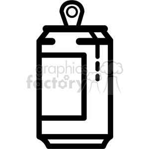 dripping soda can icon clipart. Royalty-free image # 398232