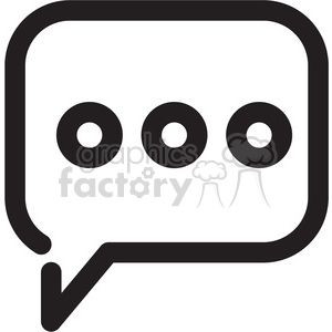 social media chat icon clipart. Royalty-free icon # 398297