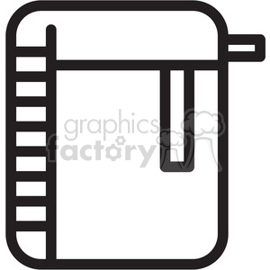 folder icon clipart. Royalty-free image # 398317