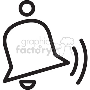ring bell icon clipart. Royalty-free icon # 398337