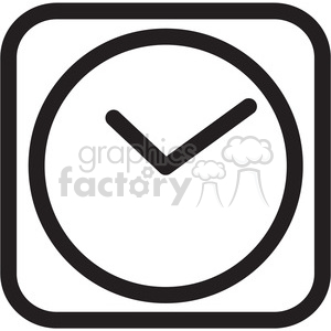 clock icon clipart. Commercial use icon # 398347