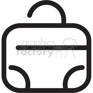 icon black+white symbol symbols suitcase travel vacation
