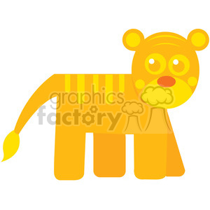 Tiger_2 vector image RF clip art clipart. Royalty-free image # 398434