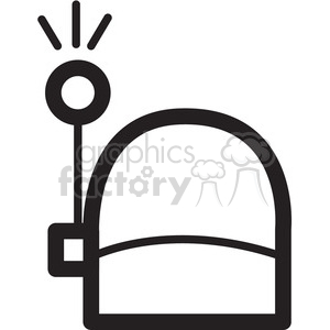 antenna receiving signal vector icon clipart. Royalty-free image # 398494