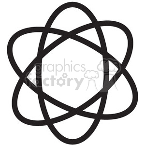 atomic vector icon clipart. Royalty-free image # 398579