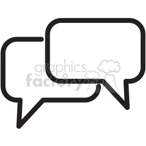 chat vector icon clipart. Royalty-free icon # 398592