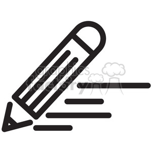 writing vector icon clipart. Royalty-free image # 398641