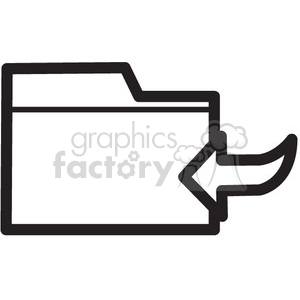 save file vector icon clipart. Royalty-free image # 398691