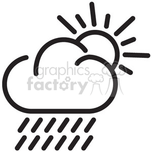 weather rain vector icon clipart. Royalty-free icon # 398721