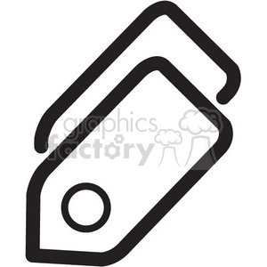 shopping tags vector icon clipart. Commercial use image # 398731