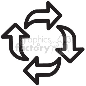 reload vector icon clipart. Royalty-free image # 398746