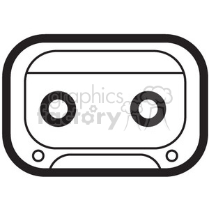cassette tape vector icon clipart. Royalty-free icon # 398761