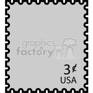 us postal stamp clipart. Royalty-free image # 398801