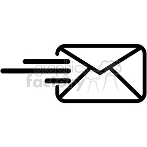 email sent vector icon clipart. Commercial use image # 398853